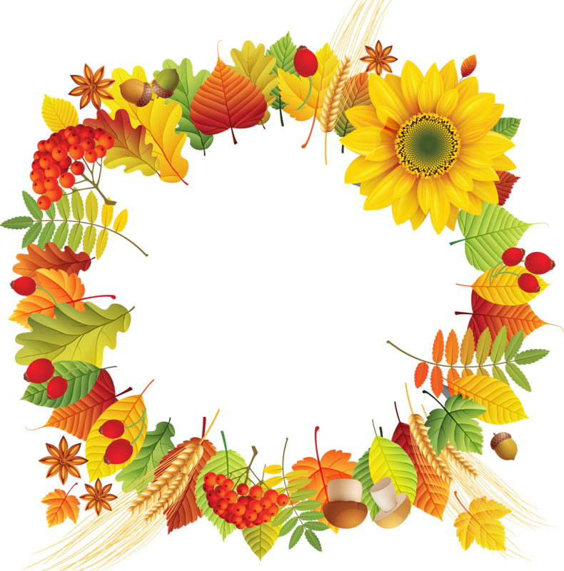 Pin by on pinterest. Floral clipart thanksgiving