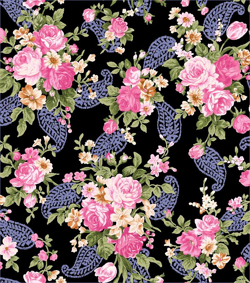 Floral clipart trim. Transparent flowers decoration clip