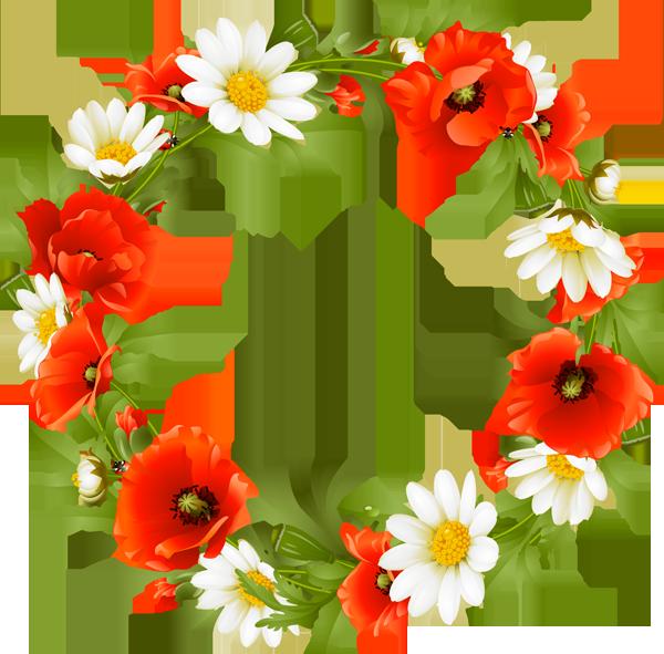 Pontiac s rebellion an. Floral clipart wreath