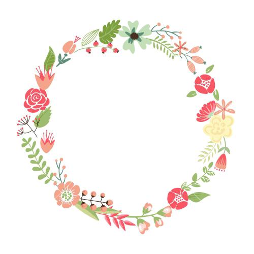 Floral frame png. Transparent image mart