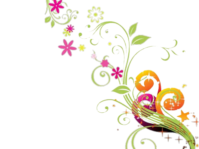Flower transfers pinterest hobby. Floral vector png