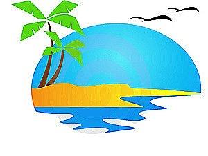 Sunset free images image. Florida clipart beach florida