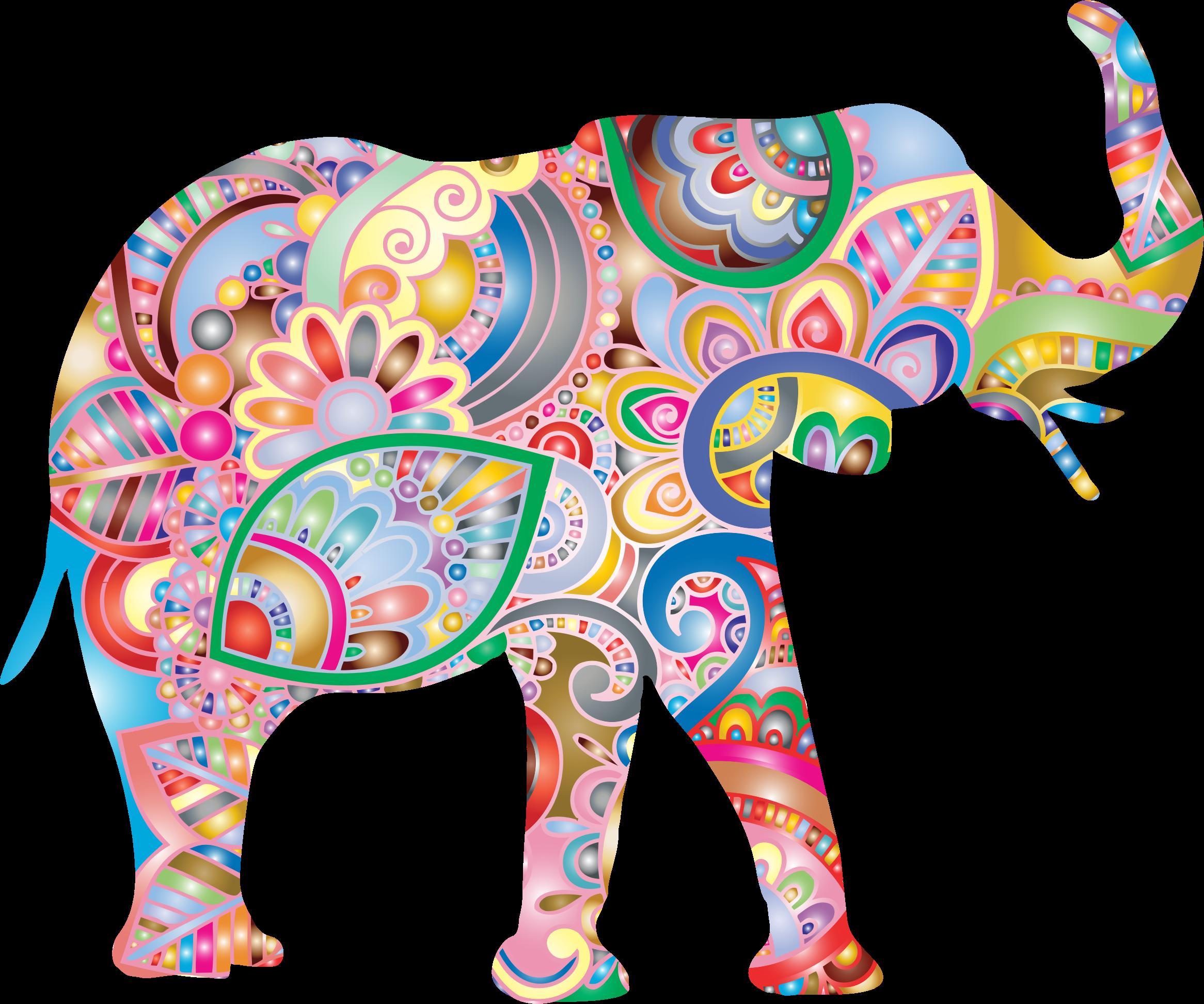 Florida clipart big. Elephant prismatic image png