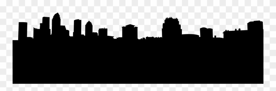 Image buildings silhouette . Florida clipart big