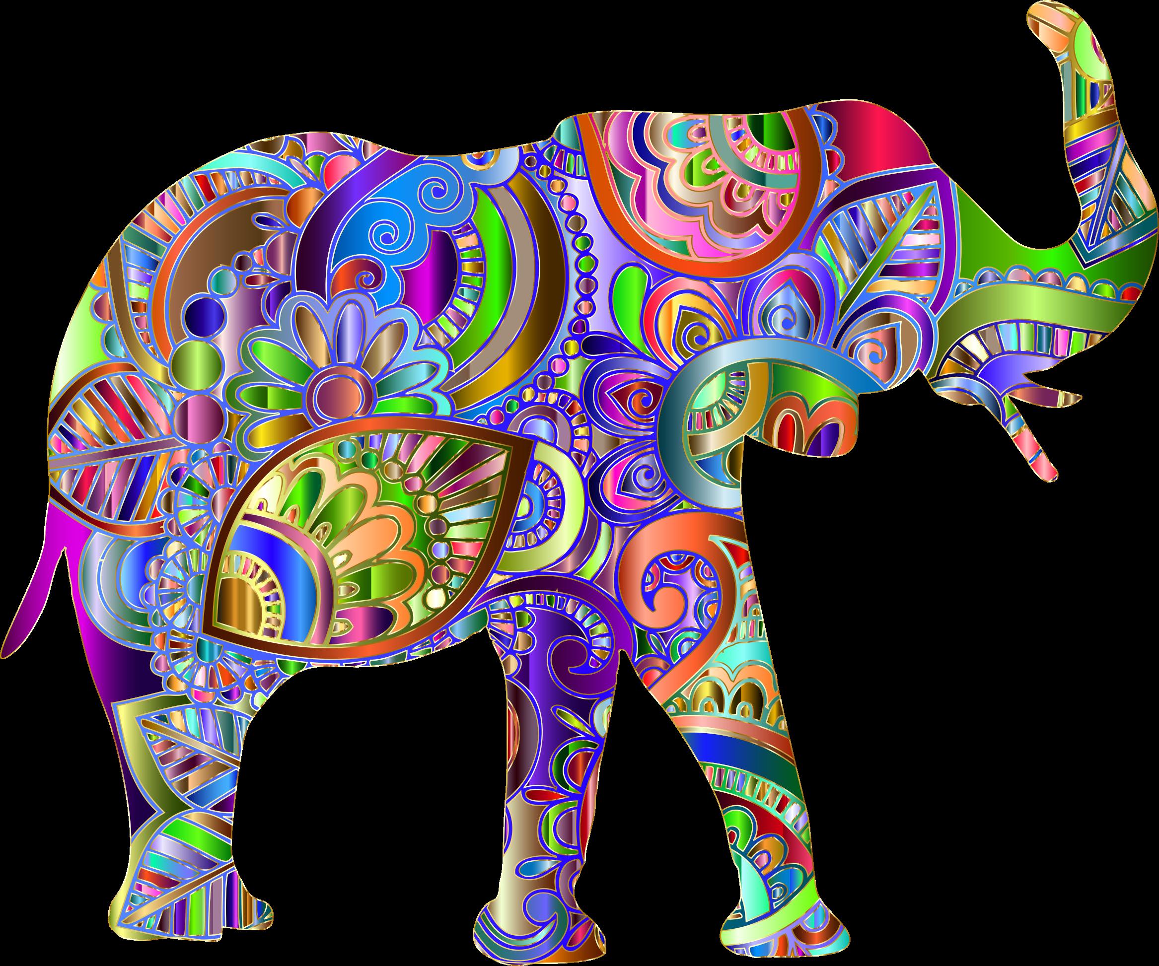 Elephant prismatic image png. Florida clipart big