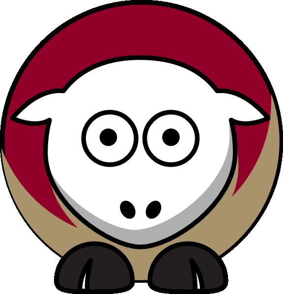 Sheep state seminoles team. Florida clipart character