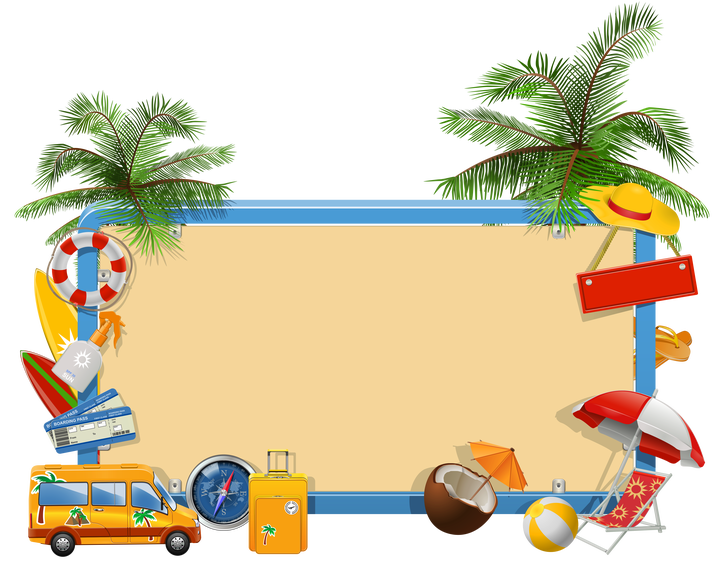 Florida clipart family vacation. Free clip art traveltourswall