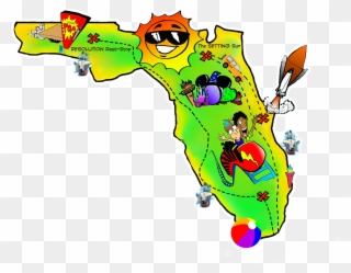 Florida clipart map. Free by preptoon clip