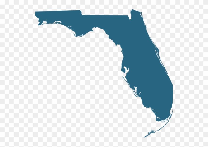 Transparent pinclipart . Florida clipart map