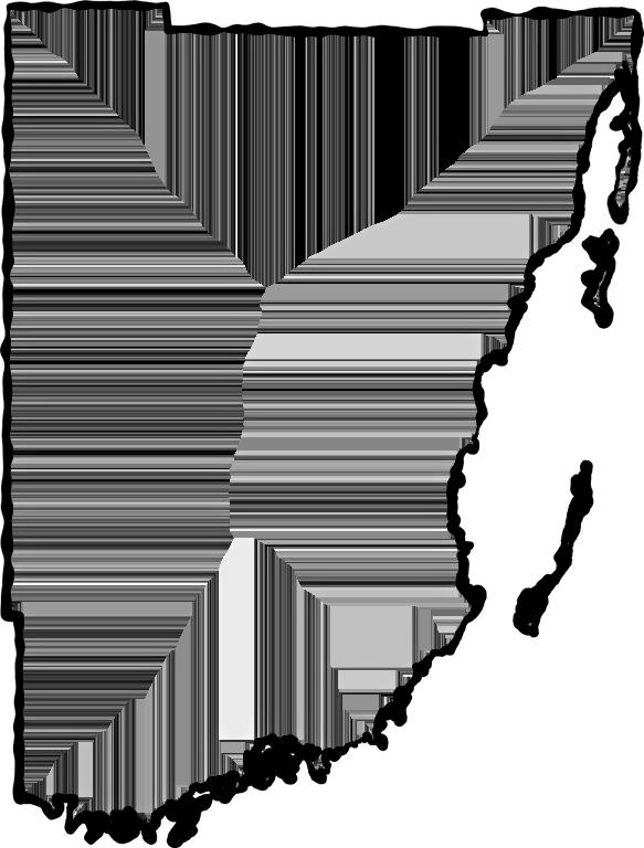 Florida clipart map miami florida. Dade fancy frame style