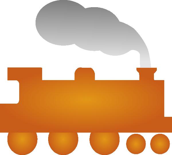 Orange train clip art. Florida clipart orenge