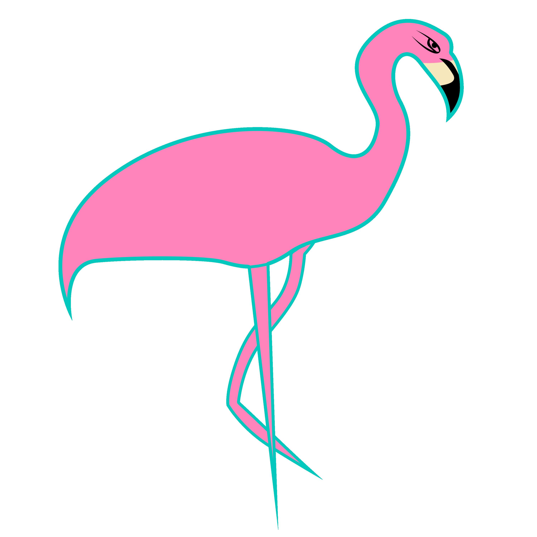 florida clipart pink