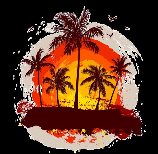 sunset clipart sunset california
