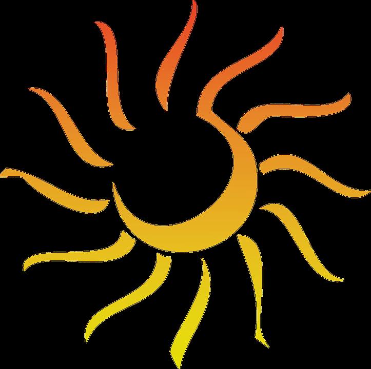 Light ray pencil and. Florida clipart sunshine