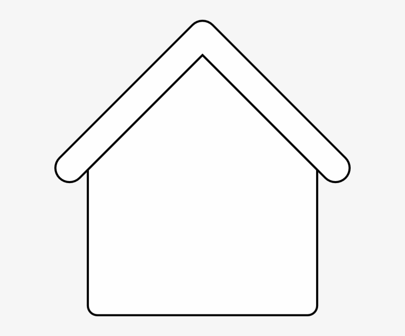 House outline blank free. Florida clipart template