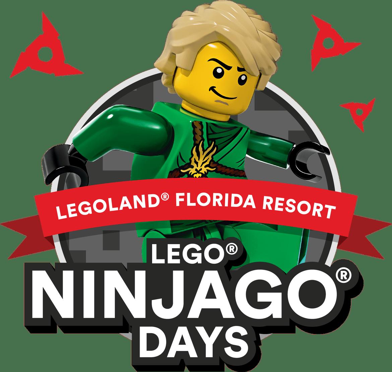 Florida clipart vacation day. Legoland ninjago days acupful