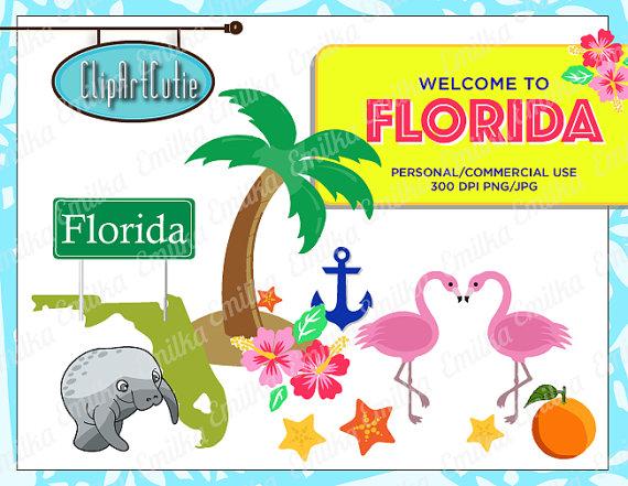 Florida clipart vacation florida. Pencil
