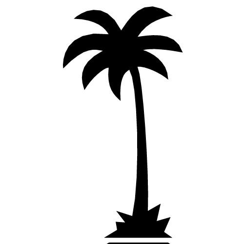 Hawaiian tree clip art. Palm clipart palm florida trees
