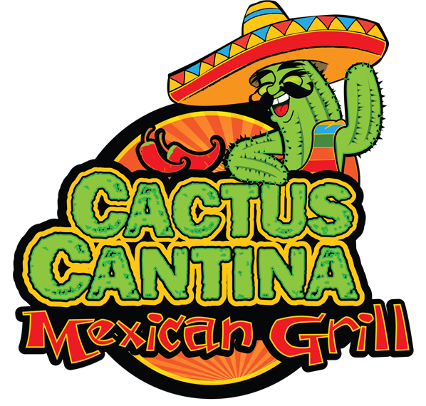 Cactus cantina grill orange. Florida clipart vacation mexican