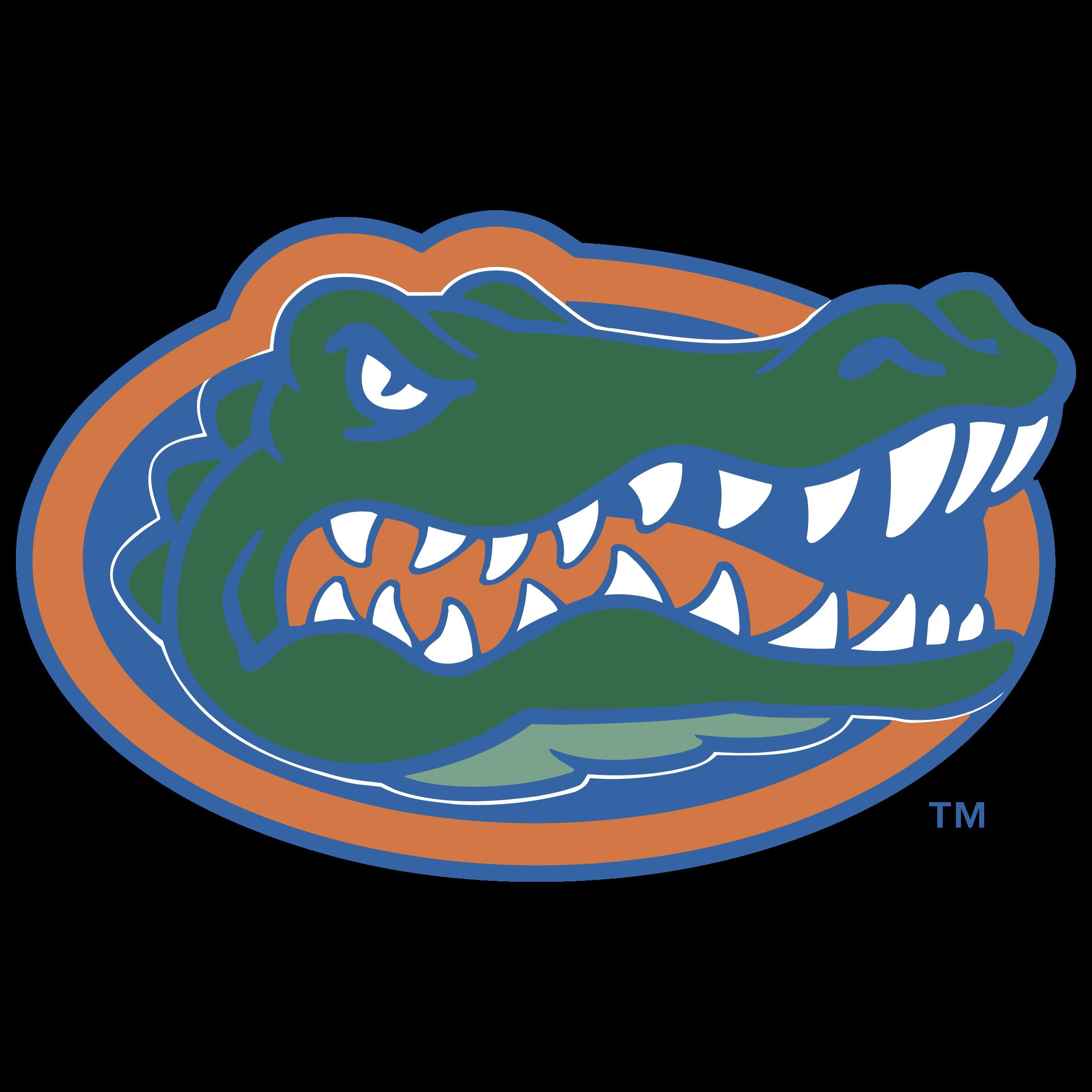 Florida clipart vector. Gators logo png transparent