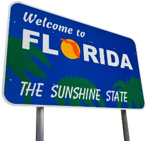 To sign clip art. Florida clipart welcome