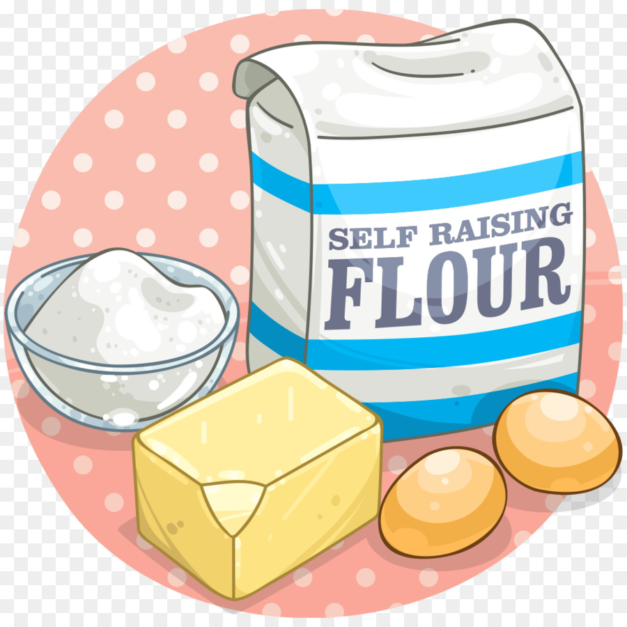 Cupcake ingredient baking clip. Flour clipart