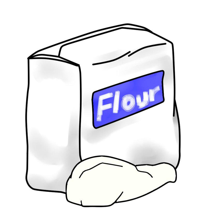 . Flour clipart