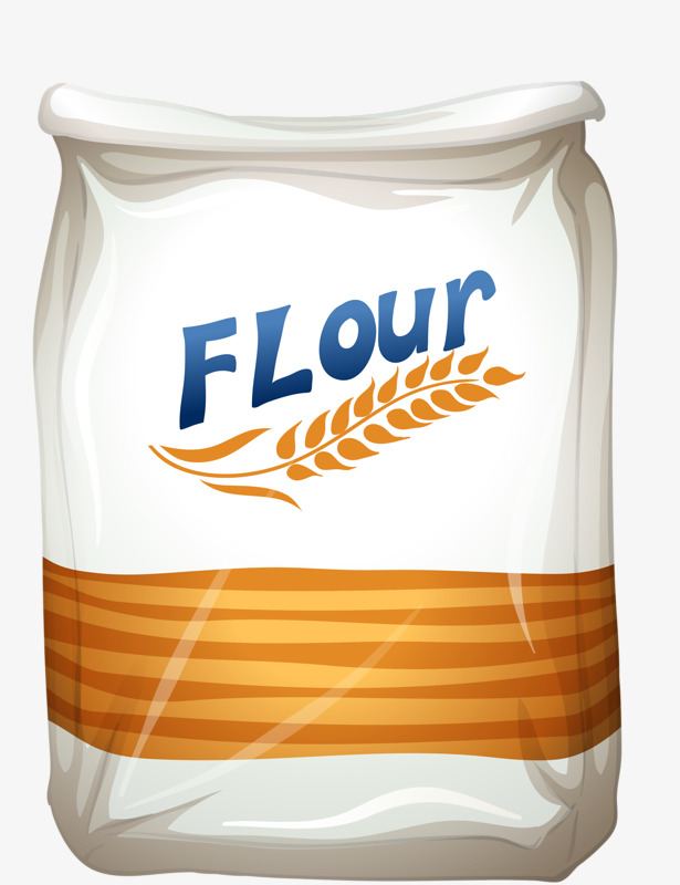 Flour clipart. Wheat bags bag png