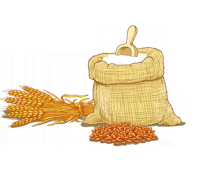Wheat cereal clip art. Flour clipart all purpose flour