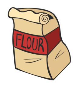 Wholewheat clip art . Flour clipart all purpose flour