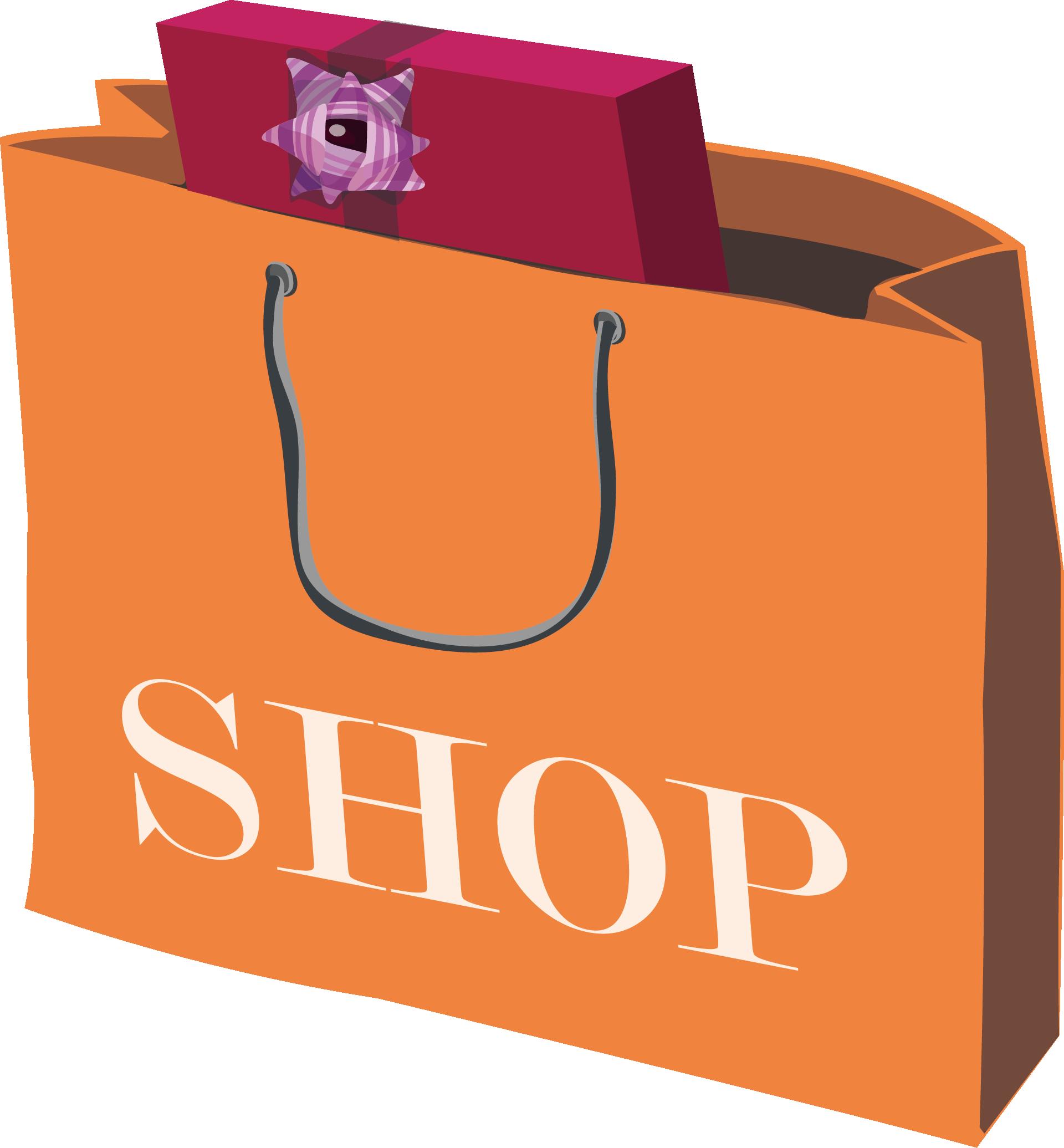 Gift clipart gift bag. Shopping paper clip art