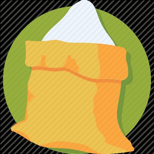 food by creative. Flour clipart bag salt