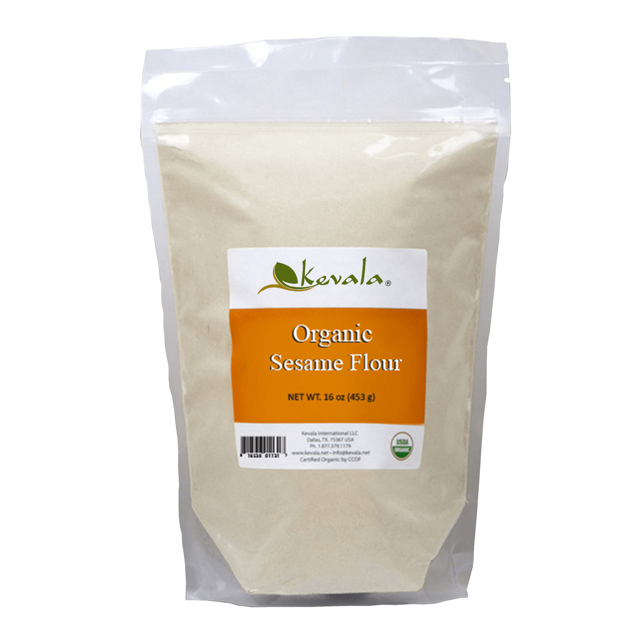 Organic sesame lb kevala. Flour clipart baking flour