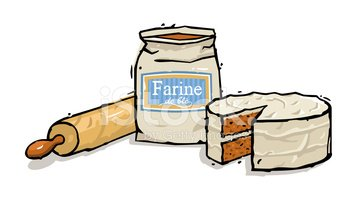 And rolling pin stock. Flour clipart cake flour