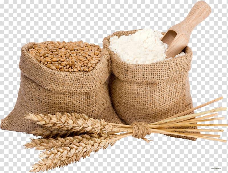 Wheat illustration atta bread. Flour clipart cereal grain