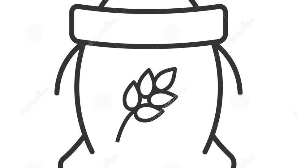 Drawing free download best. Flour clipart coloring