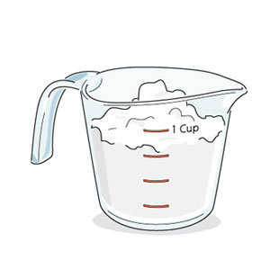Does tossing blueberries in. Flour clipart cup flour