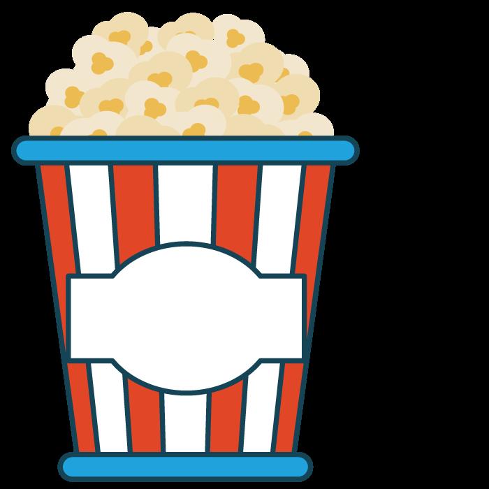 Flour clipart drawing. Popcorn food clip art