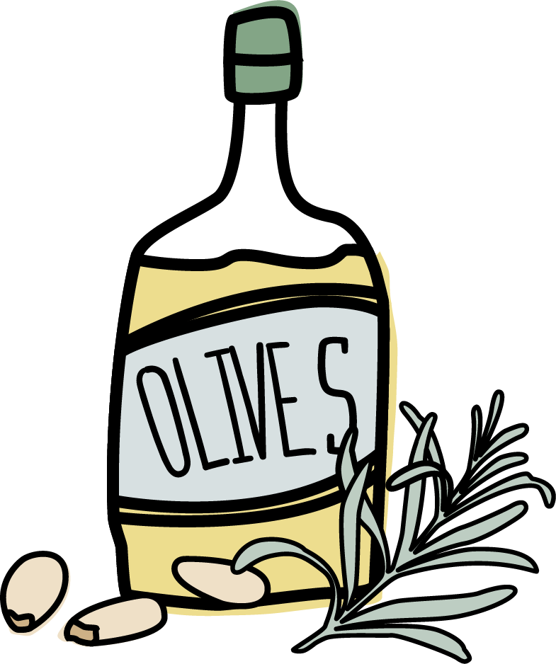 Flour clipart oil. Olive at getdrawings com