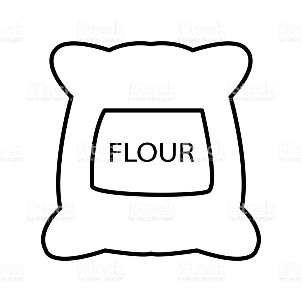Flour clipart outline. Free download best on