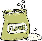 Flour clipart sack flour. Station