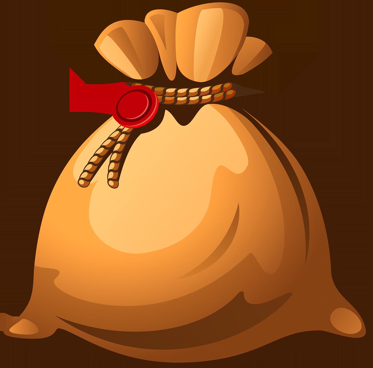 Flour clipart sack flour. Gunny money bag royalty