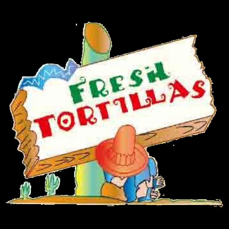 Taste clipart disgusting food. Fresh tortillas delivery bustleton