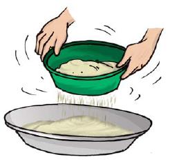 Flour clipart sieve flour. Clip art library