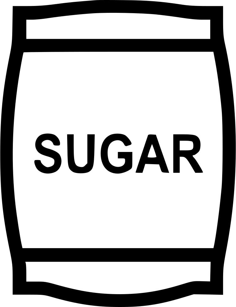 Sugar bag svg png. Flour clipart suagr
