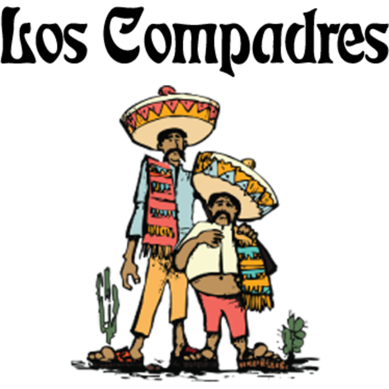 Los compadres mexican food. Soup clipart spilled