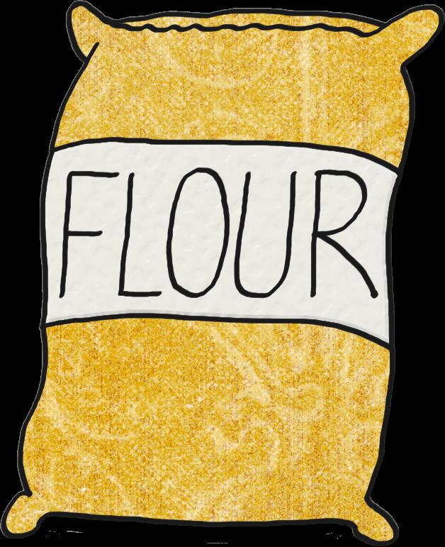 flour clipart transparent background