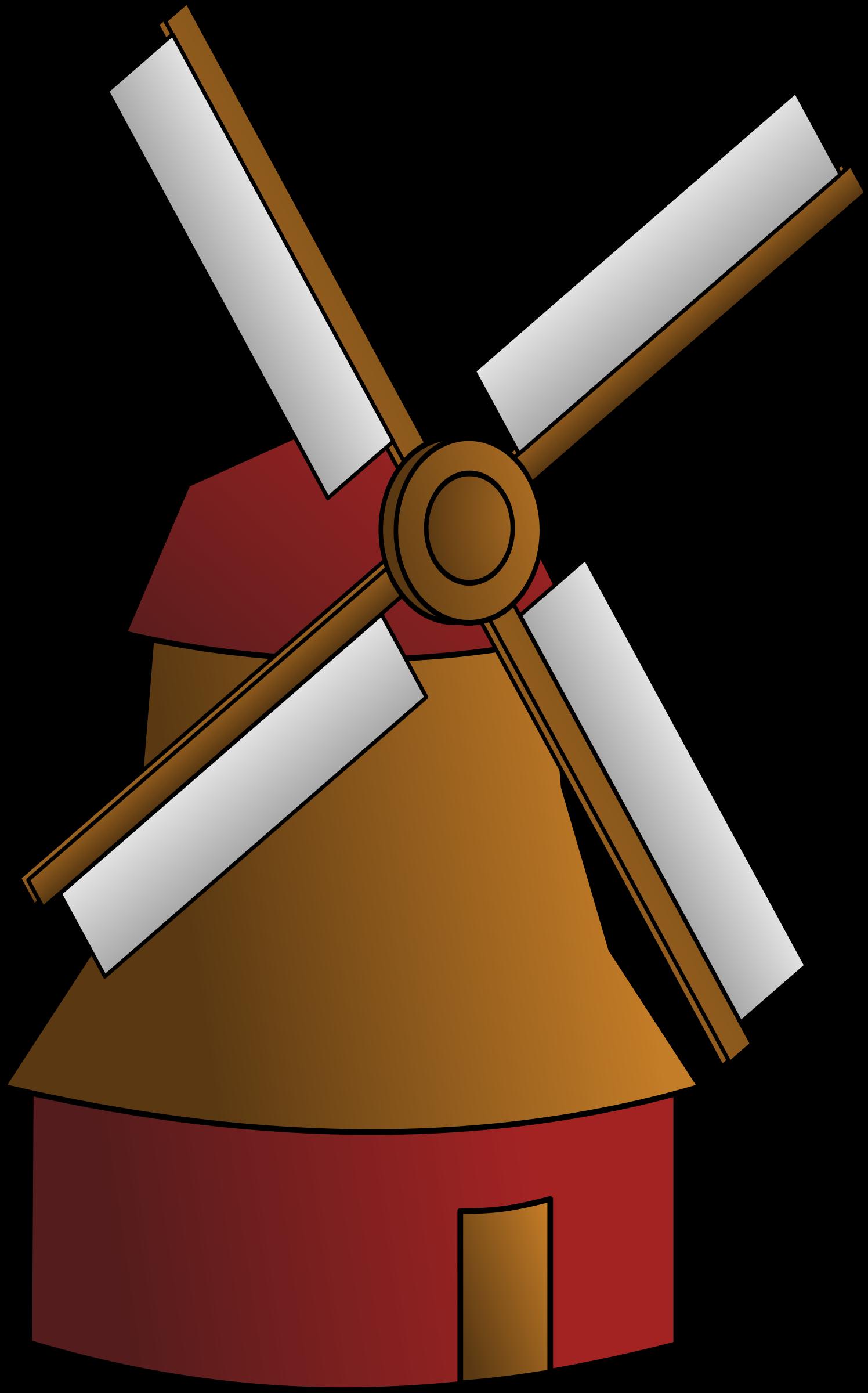 Windmill big image png. Flour clipart vector