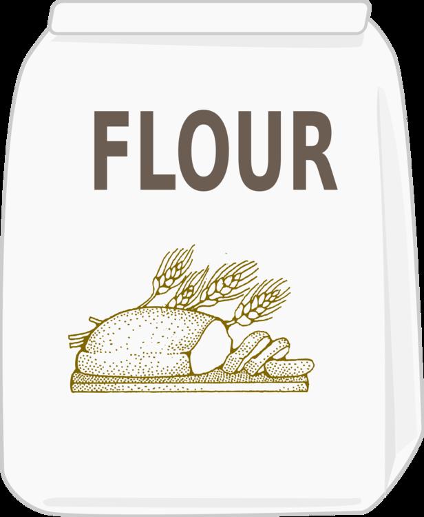 Flour clipart wheat flour. Brand material label png