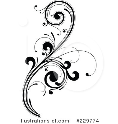 Flourish clipart. Illustration by onfocusmedia royaltyfree